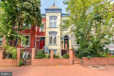 Washington Townhouse For Sale: 47 S Street NW