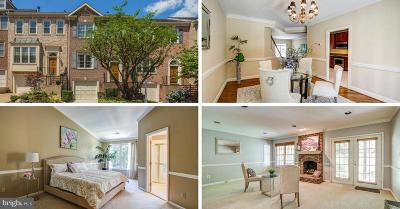 Falls Church Townhouse For Sale: 3912 Barcroft Mews Court