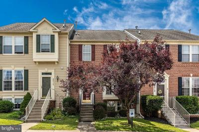 Frederick Townhouse For Sale: 9517 Bellhaven Court
