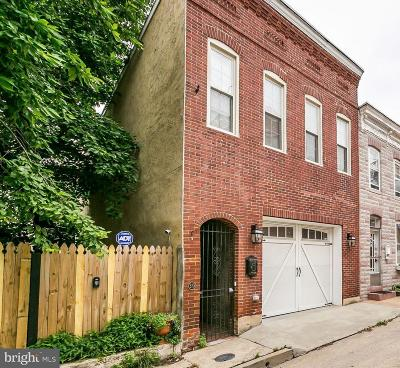 Fells Point Townhouse For Sale: 310 Durham Street S