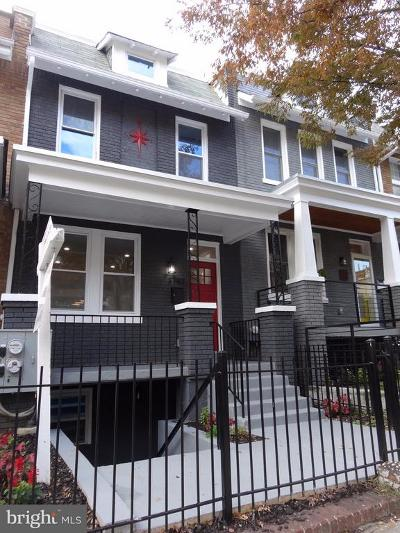 Columbia Heights, Columbia Heights/U St Townhouse For Sale: 3740 9th Street NW