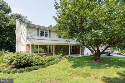 Ellicott City Single Family Home For Sale: 3724 Tustin Road