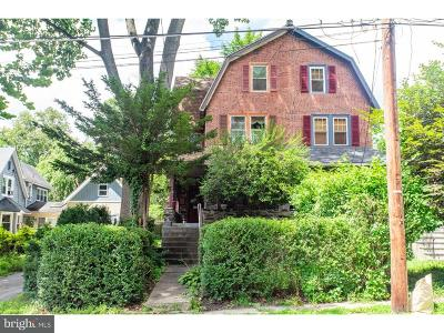 Narberth Single Family Home For Sale: 117 Merion Avenue