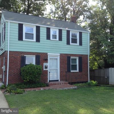Silver Spring Single Family Home For Sale: 403 University Boulevard E