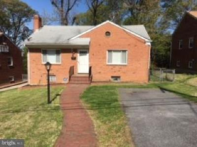 Landover Single Family Home For Sale: 2710 Crest Avenue