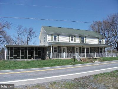 Chambersburg Single Family Home For Sale: 3035 Warm Spring Road