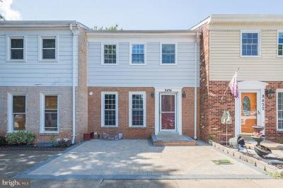 Manassas Townhouse For Sale: 8434 Willow Glen Court