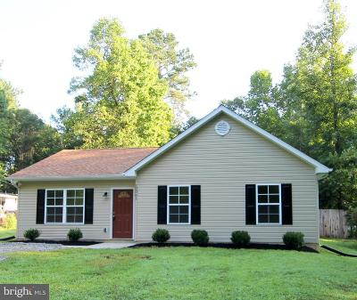Caroline County Single Family Home For Sale: 12061 Red Pine Road