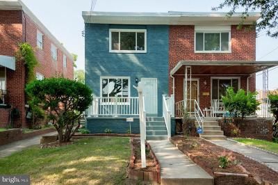 Brookland Townhouse For Sale: 730 Crittenden Street NE