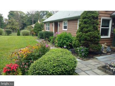 Bucks County Single Family Home For Sale: 1313 Township Line Road