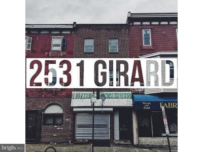 Brewerytown Multi Family Home For Sale: 2531 W Girard Avenue