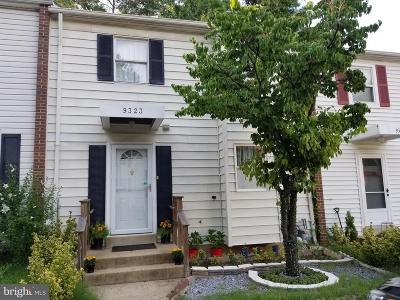 Burke Townhouse For Sale: 9323 Humphries Drive