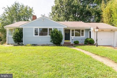 Annapolis MD Single Family Home For Sale: $459,900