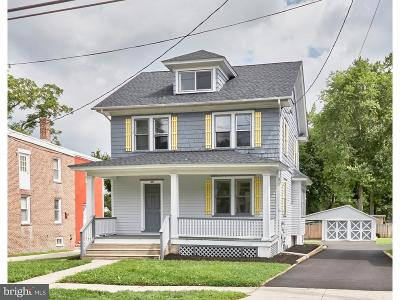 Moorestown Single Family Home For Sale: 413 N Church Street
