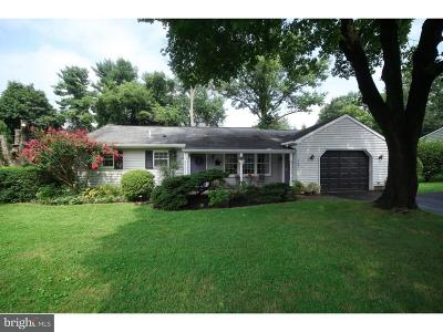 Bucks County Single Family Home For Sale: 103 Maple Lane