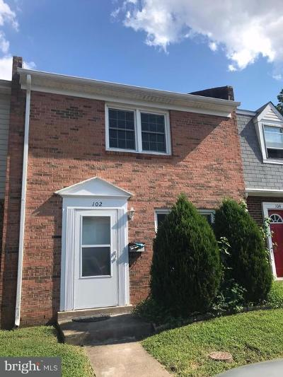 Fredericksburg VA Townhouse For Sale: $119,900