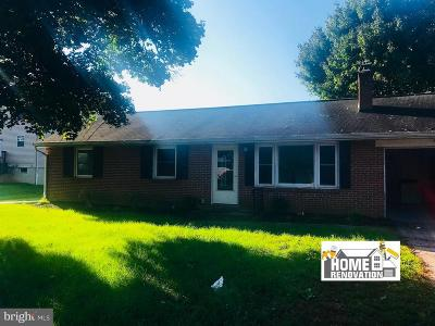 York Single Family Home For Sale: 2060 Greenbriar Road