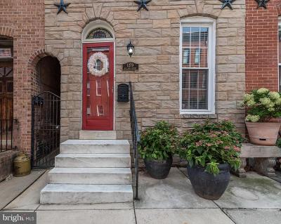 Baltimore Townhouse For Sale: 1279 William Street