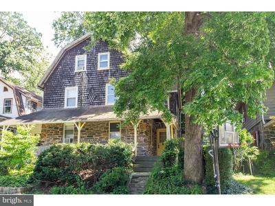 Narberth Single Family Home For Sale: 122 Merion Avenue