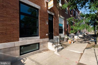 Baltimore City Townhouse For Sale: 3727 Foster Avenue