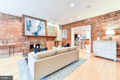 Washington Townhouse For Sale: 82 P Street NW
