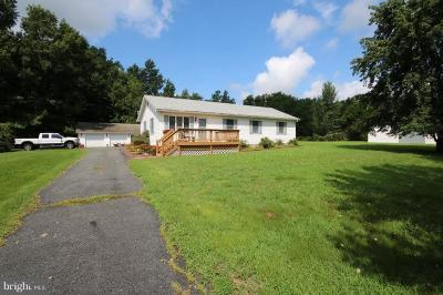 Caroline County Single Family Home For Sale: 17040 Melville Road