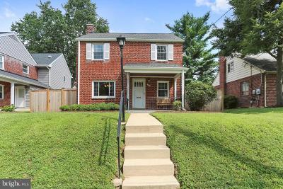 Silver Spring Single Family Home For Sale: 1623 Belvedere Boulevard