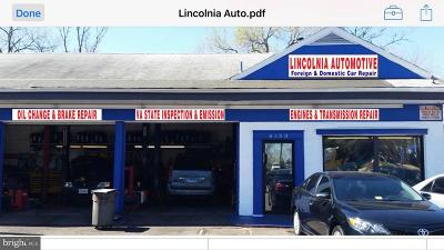 Alexandria Commercial Active Under Contract: 6130 Lincolnia Road