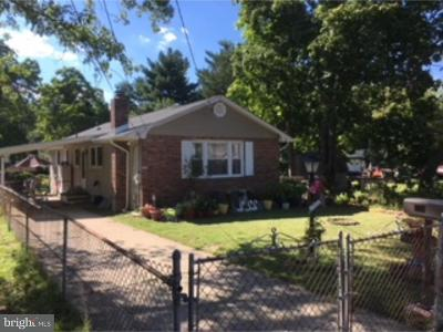 Millville Single Family Home For Sale: 206 N 9th Street