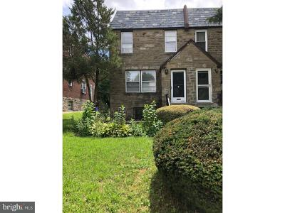 Mt Airy (East) Single Family Home For Sale: 1010 E Slocum Street