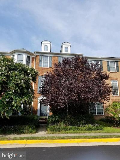 Centreville Townhouse For Sale: 5322 Cupids Dart Drive