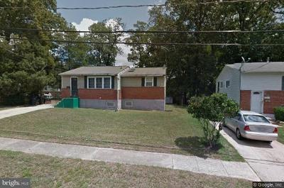 Upper Marlboro Single Family Home For Sale: 3619 Saint Johns Place
