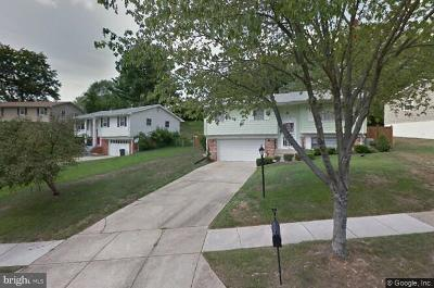Temple Hills Single Family Home For Sale: 5909 Southgate Drive