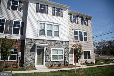 Montgomery County Townhouse For Sale: Bradford Road