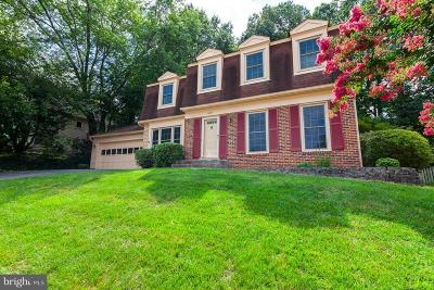 Fairfax Single Family Home For Sale: 4707 Carterwood Drive