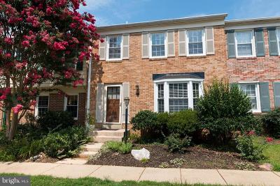 Rockville Townhouse For Sale: 19 Chantilly Court
