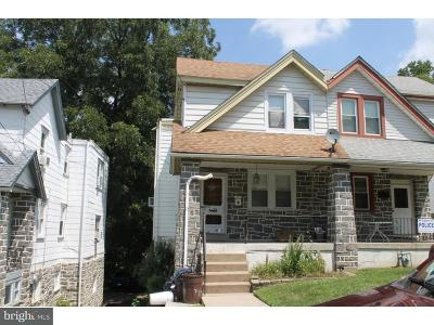 Upper Darby Single Family Home For Sale: 7715 Parkview Road