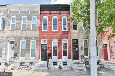 Locust Point Townhouse For Sale: 1436 Fort Avenue