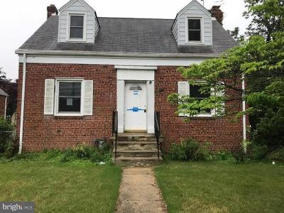 District Heights Single Family Home For Sale: 6413 Foster Street