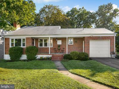 Single Family Home For Sale: 5930 Hilltop Avenue