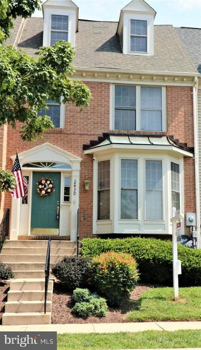 Frederick Townhouse For Sale: 2430 Stoney Creek Road