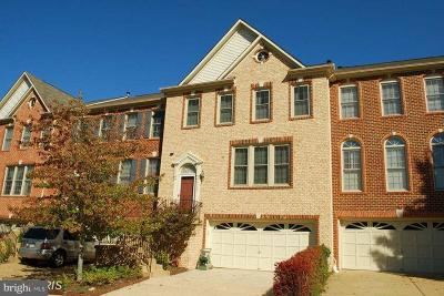 Fairfax Townhouse For Sale: 4130 Trowbridge Street