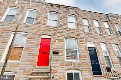 Pigtown Townhouse For Sale: 1163 Cleveland Street