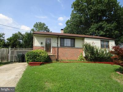 College Park Single Family Home For Sale: 4804 Niagara Road