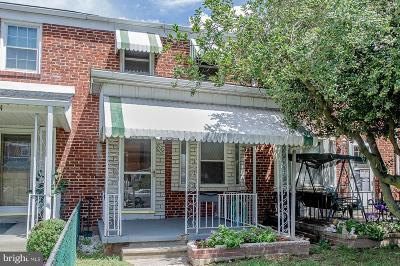 Baltimore MD Townhouse Under Contract: $109,900