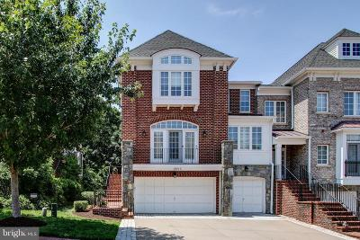 Leesburg Townhouse For Sale: 18215 Cypress Point Terrace