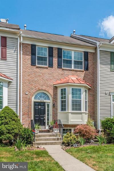 Frederick Townhouse For Sale: 935 Jubal Way