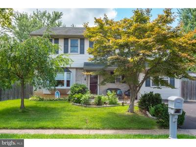 Bensalem Single Family Home Active Under Contract: 1617 Point Drive