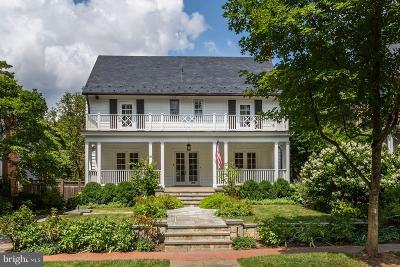 Bethesda, Chevy Chase Single Family Home For Sale: 7 Hesketh Street
