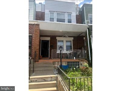 Philadelphia PA Townhouse For Sale: $75,000